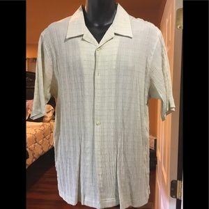 Elliott light green short sleeve shirt size XL
